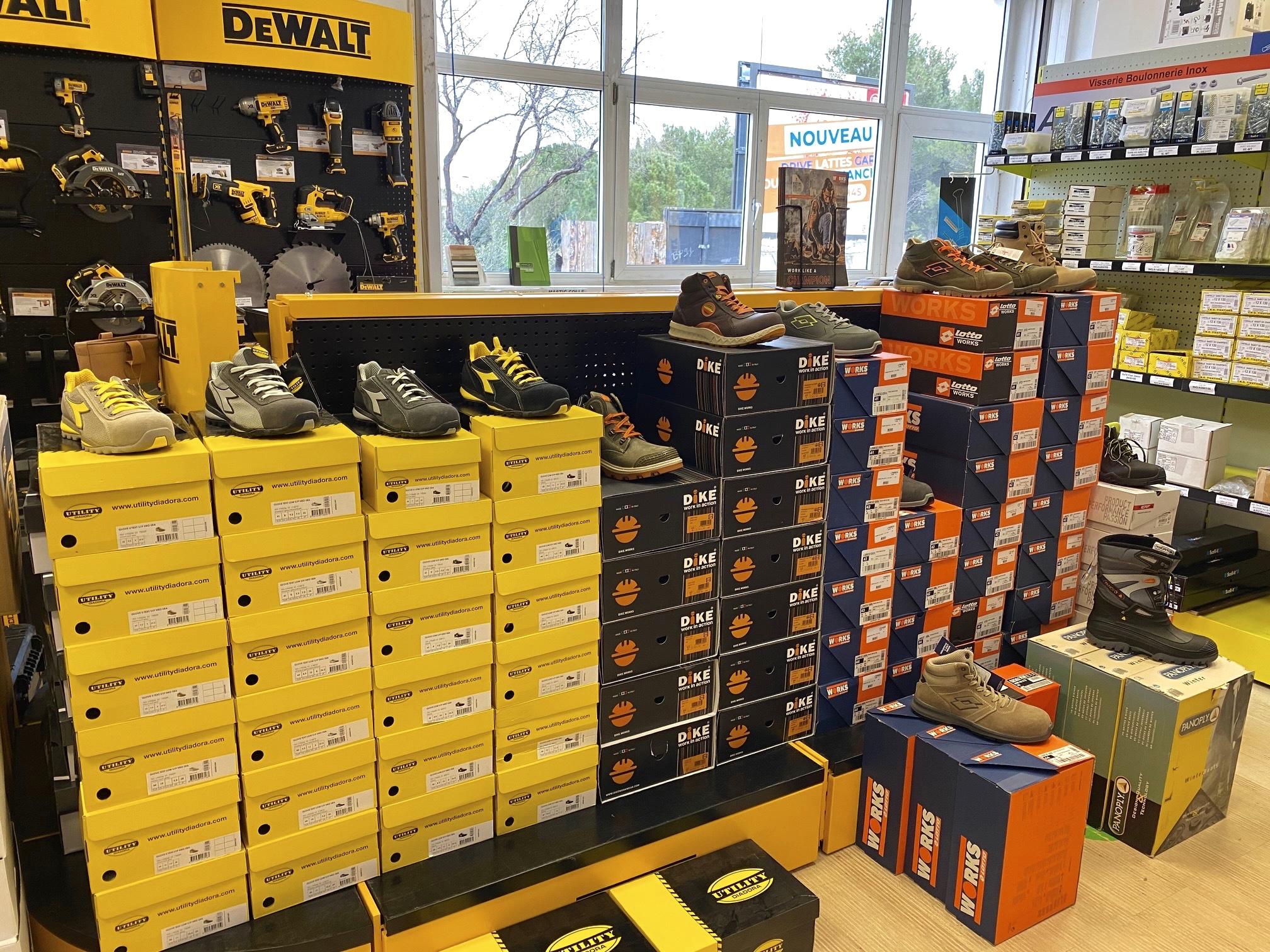 Arrivage exceptionnel de chaussures de sécurité !